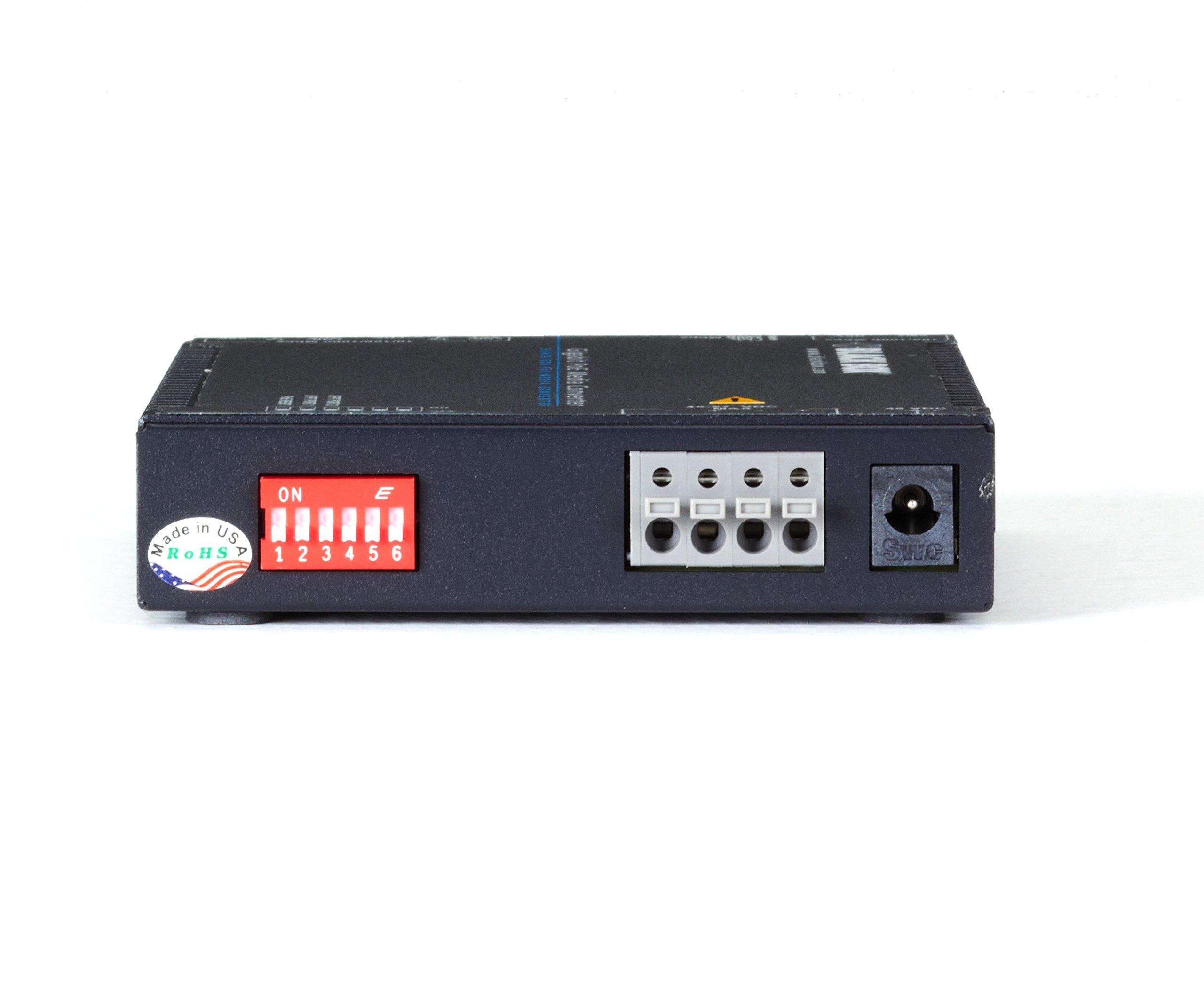 Black Box Media Converter Gigabit Ethernet PoE SFP