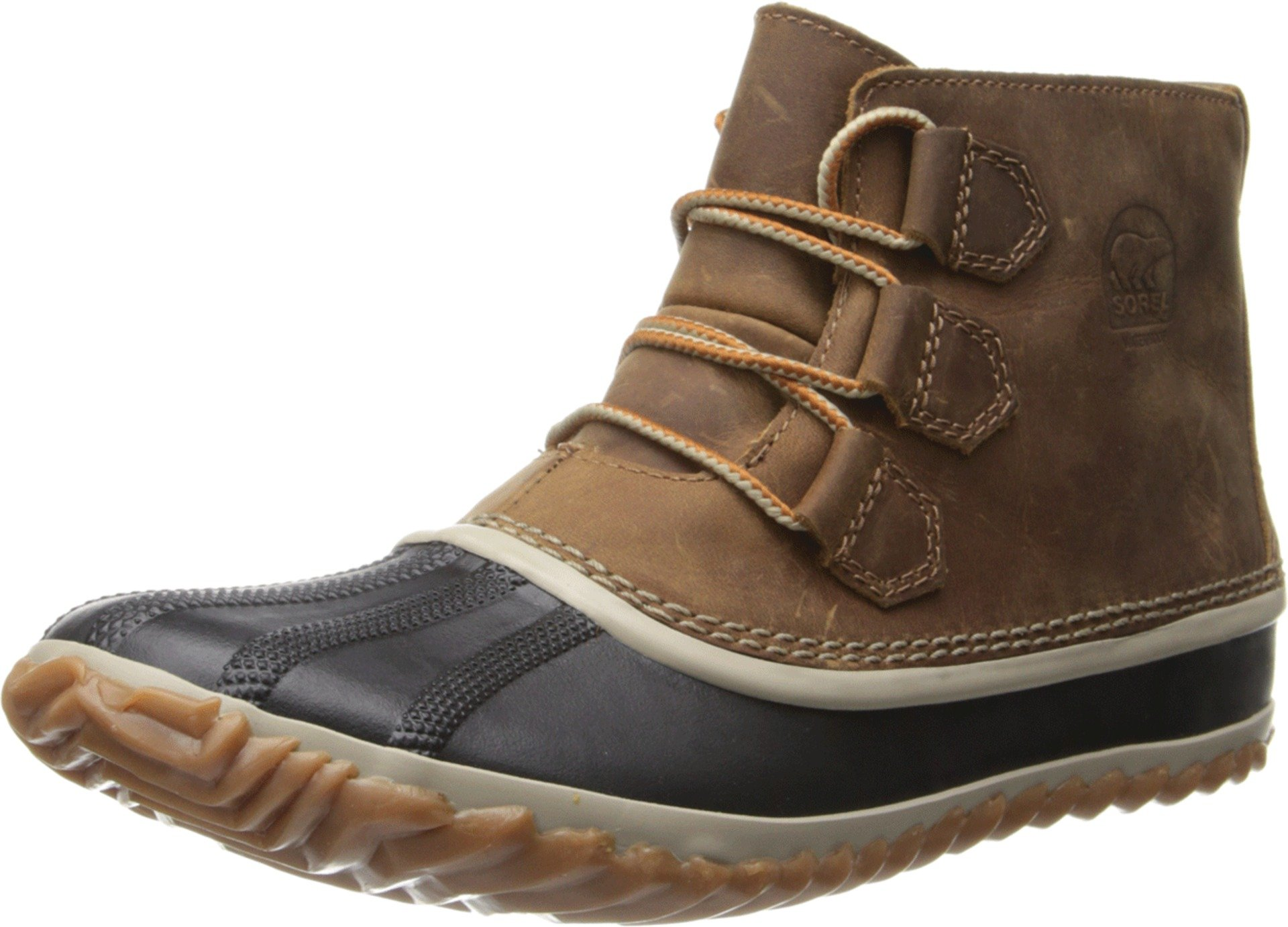 Sorel Women's Out N about Leather Snow Boot,Elk,9.5 M US