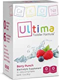Ultima Replenisher Electrolyte Powder Toddler Formula, Berry Punch Packets, 15 Count