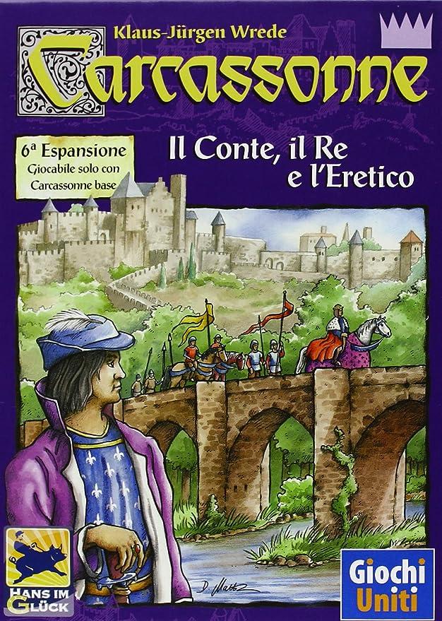Giochi Uniti Carcassonne Il Conte, il Re e LEretico - Expansión ...