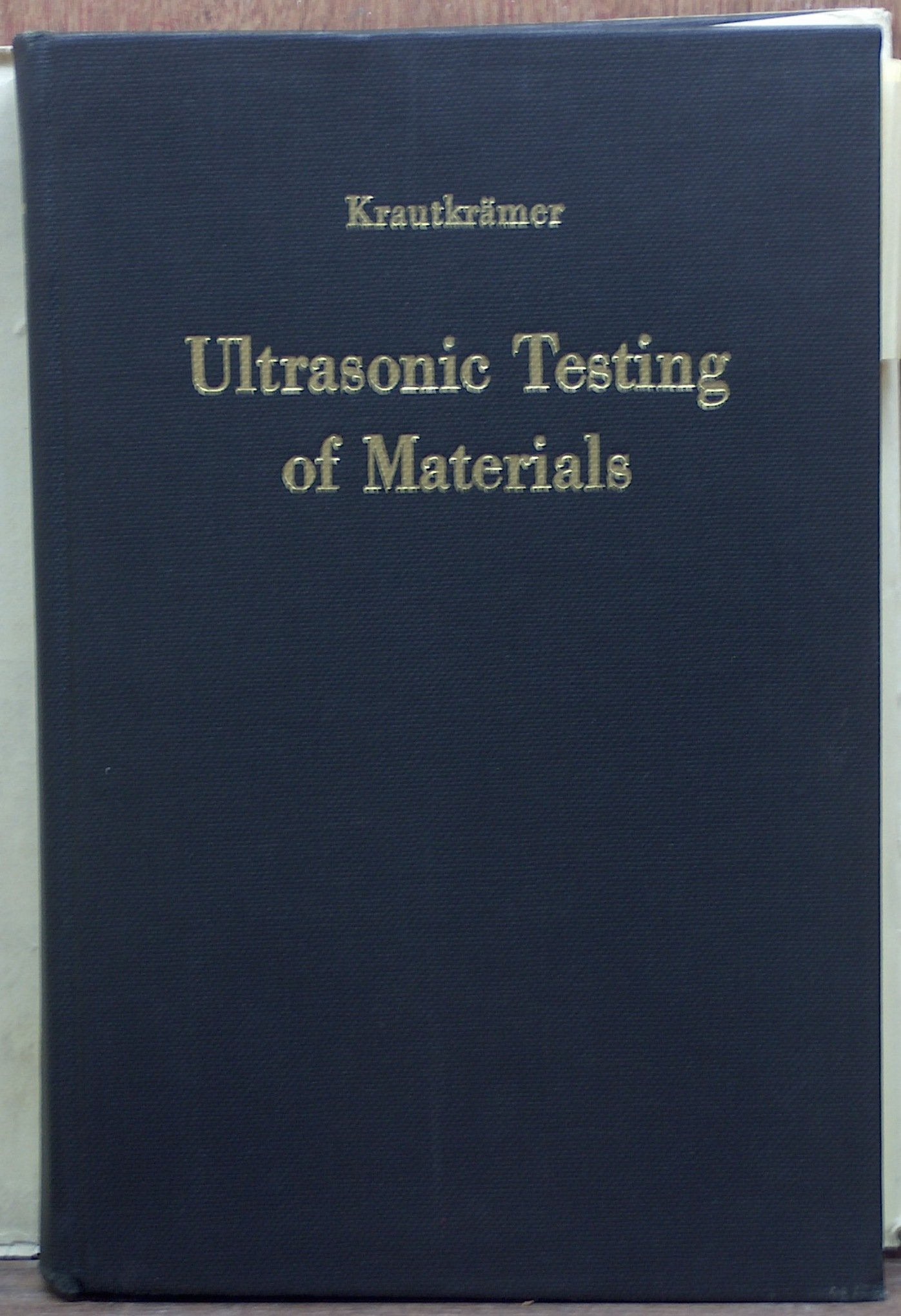 Ultrasonic Testing Of Materials