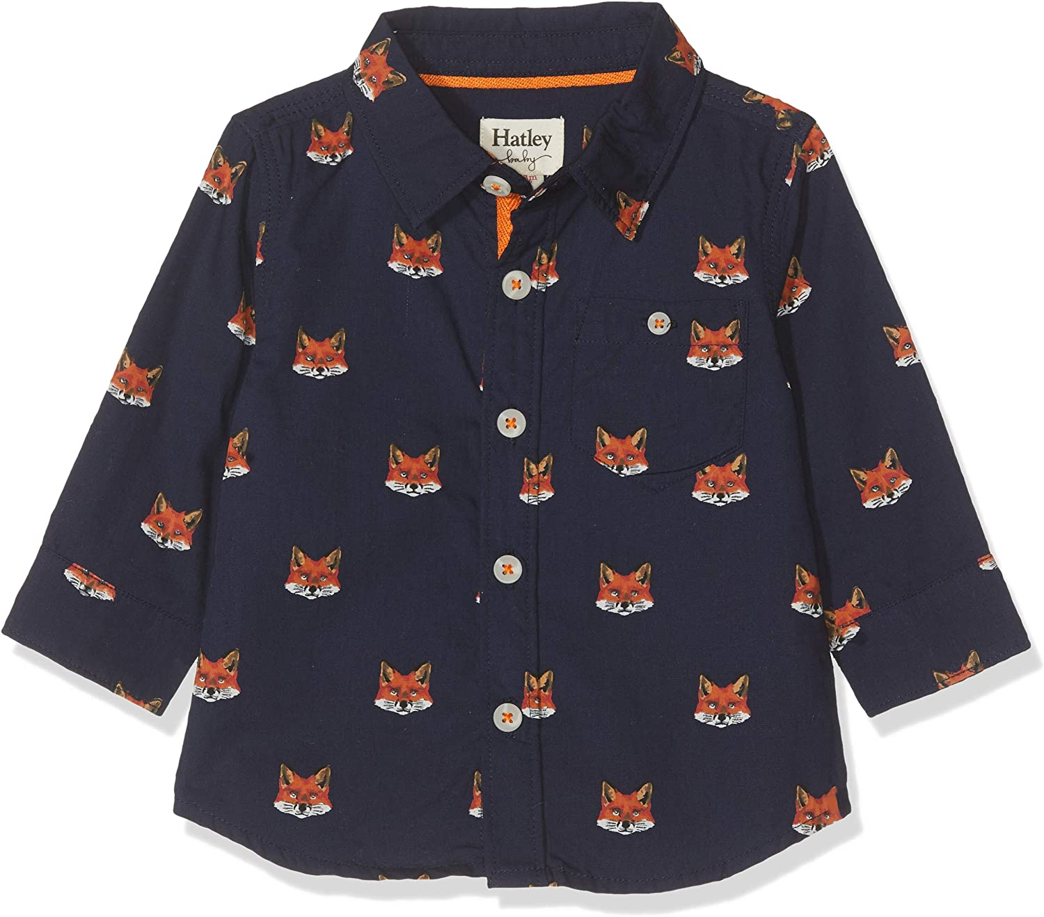 Hatley Baby Shirt Clever Fox