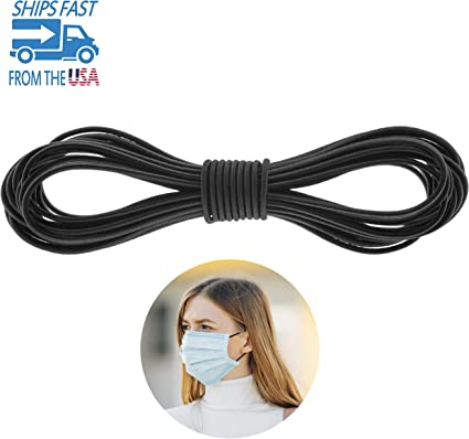 Amazon Com Round Elastic Band For Sewing Heavy Stretch Bungee