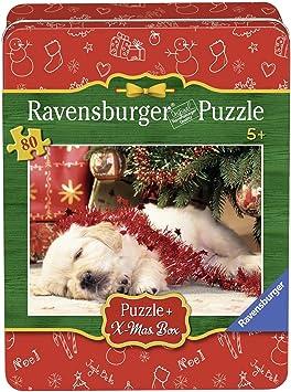 Ravensburger - Puzzle Navidad en caja de metal (07546 1) , color/modelo surtido: Amazon.es: Juguetes y juegos