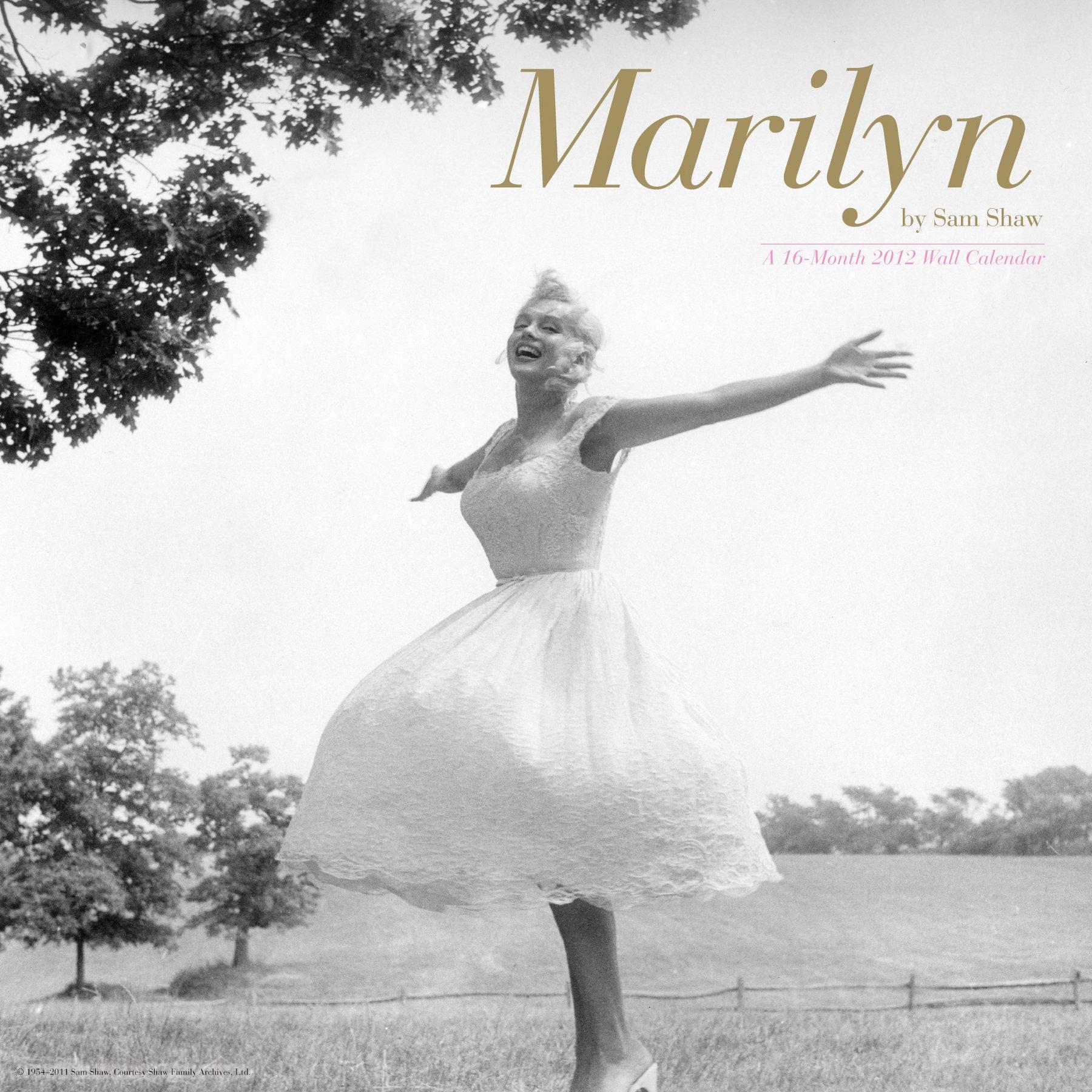 Marilyn Monroe 2012 Wall Calendar