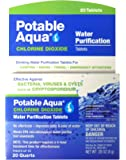 Potable Aqua Chlorine Dioxide Water Purification Tablets - 20 Count