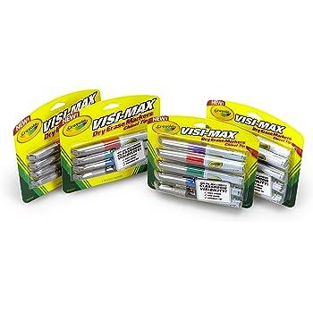 Amazon.com : Crayola 98-5200 8CT Dry Erase Crayons (Pack