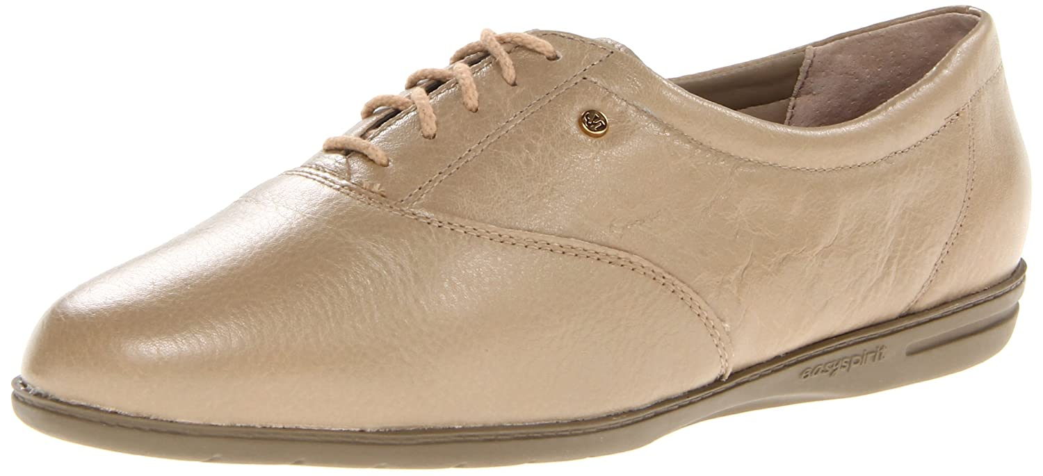 Wheat Leather Easy Spirit Women's Motion Sport Lace-Up Sneaker