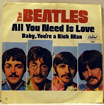 All You Need Is Love B/w Baby, Youre a Rich Man
