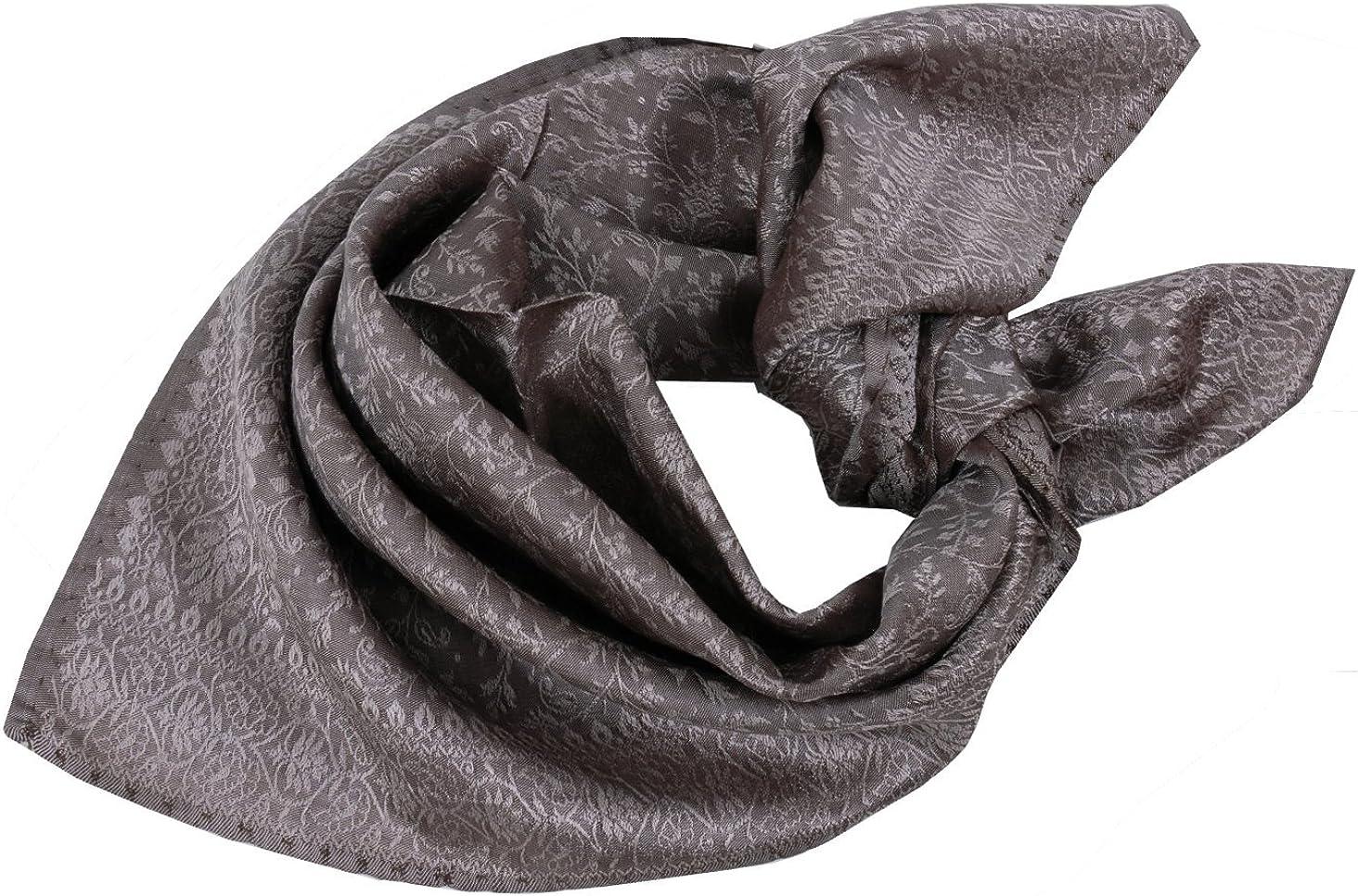 Trachtentuch Trachtenhalstuch Halstuch Nickituch Nicki 100/% Seide Beige Braun
