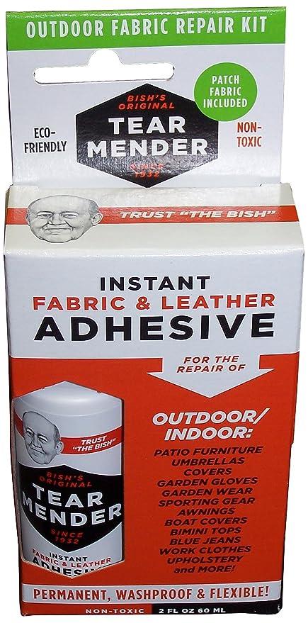 Amazon Com Tear Mender Outdoor Fabric Adhesive Repair Kit 2 Oz