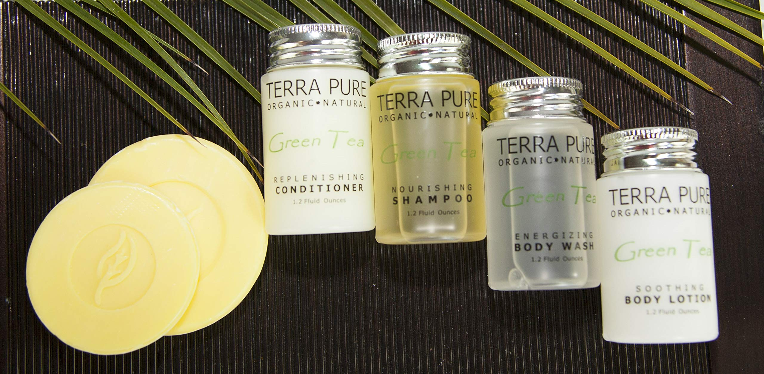 Terra Pure Bar Soap, Travel Size Hotel Amenities, 1.25 oz (Pack of 350) by Terra Pure (Image #5)