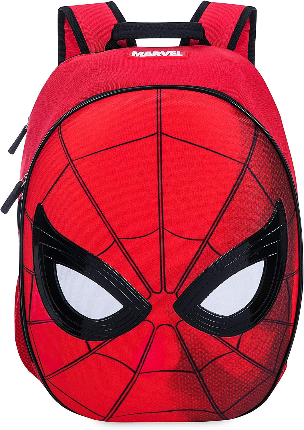 """The Amazing Spider-man Small 12/"""" Boys Rolling Backpack With Free Water Bottle"""