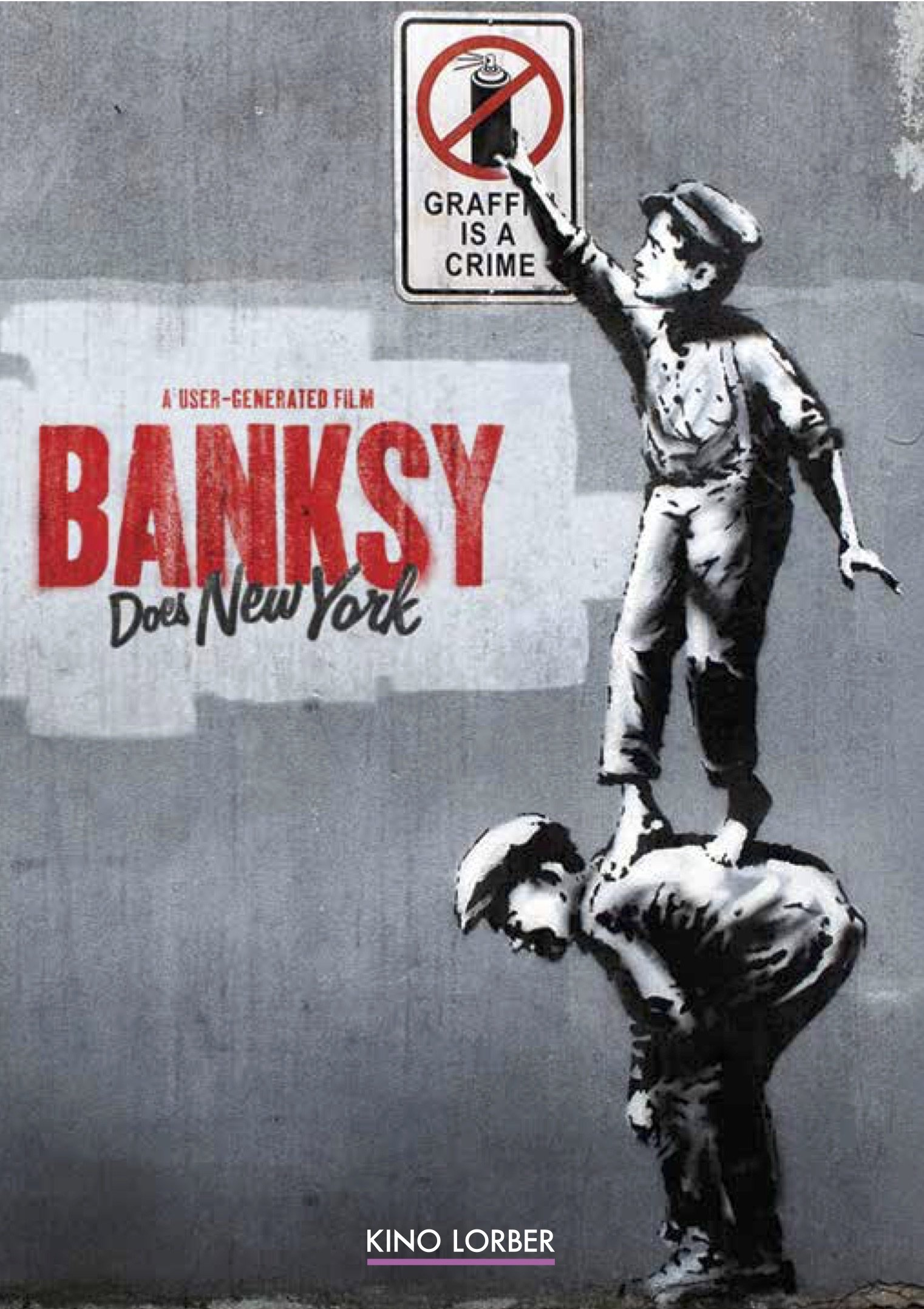 DVD : Banksy - Banksy Does New York (DVD)