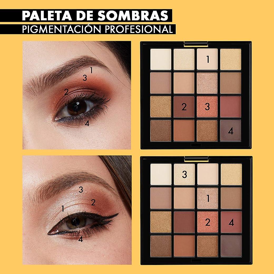 NYX Makeup Paleta de sombra de ojos Professional