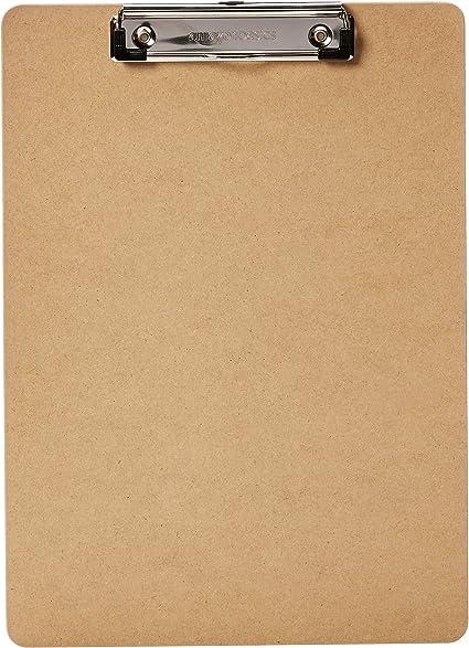 AmazonBasics - Portapapeles rígido, pack de 30: Amazon.es: Oficina ...