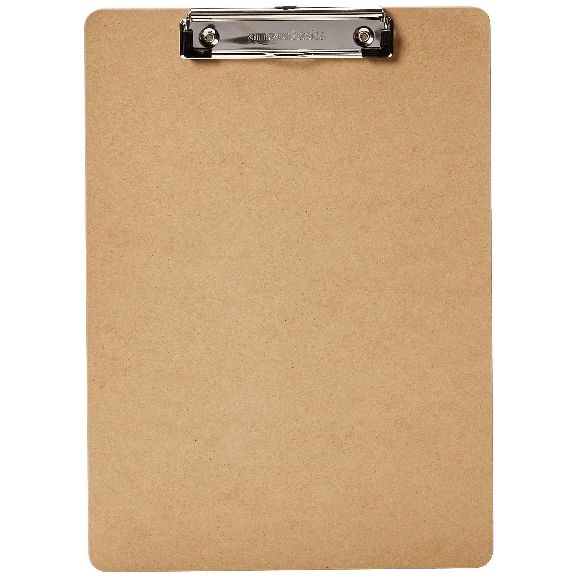 AmazonBasics Hardboard Office Clipboard - 30-Pack by AmazonBasics