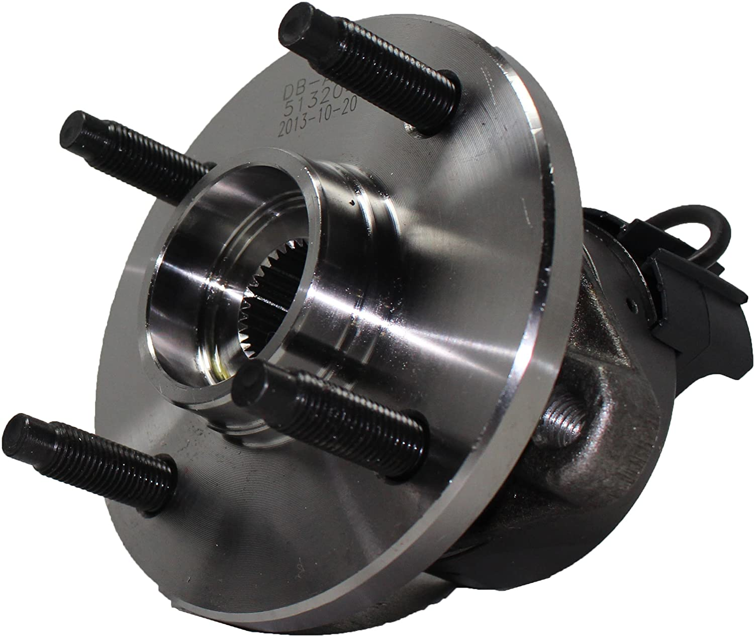 - 2005-06 Pontiac Pursuit - 2005-10 Chevy Cobalt - Detroit Axle 4-LUG Front Wheel Hub and Bearing Assembly Pair for 4-Wheel ABS Models 2007-10 Pontiac G5 2003-2007 Saturn Ion