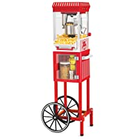 Deals on Nostalgia KPM200CART 2.5-Ounce Popcorn and Concession Cart