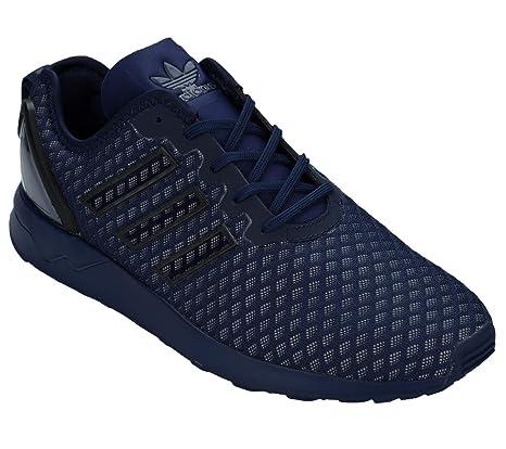 the latest 74d75 e308a adidas ZX Flux Zapatillas Altas, Hombre, Negro Blue, 42 EU