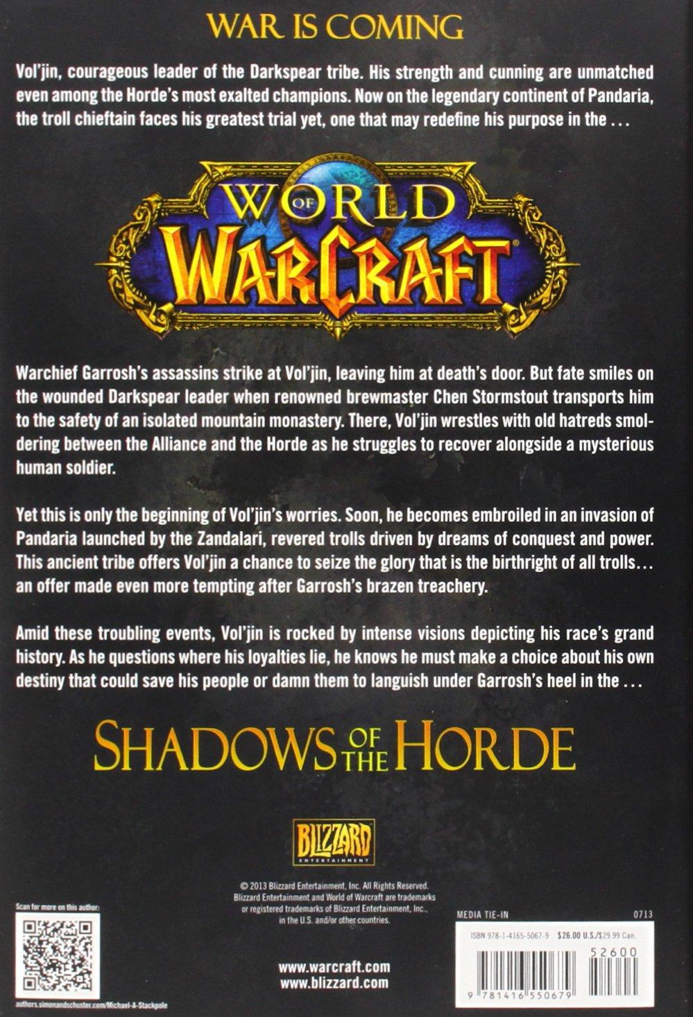 World Of Warcraft Voljin Shadows Of The Horde World Of Warcraft