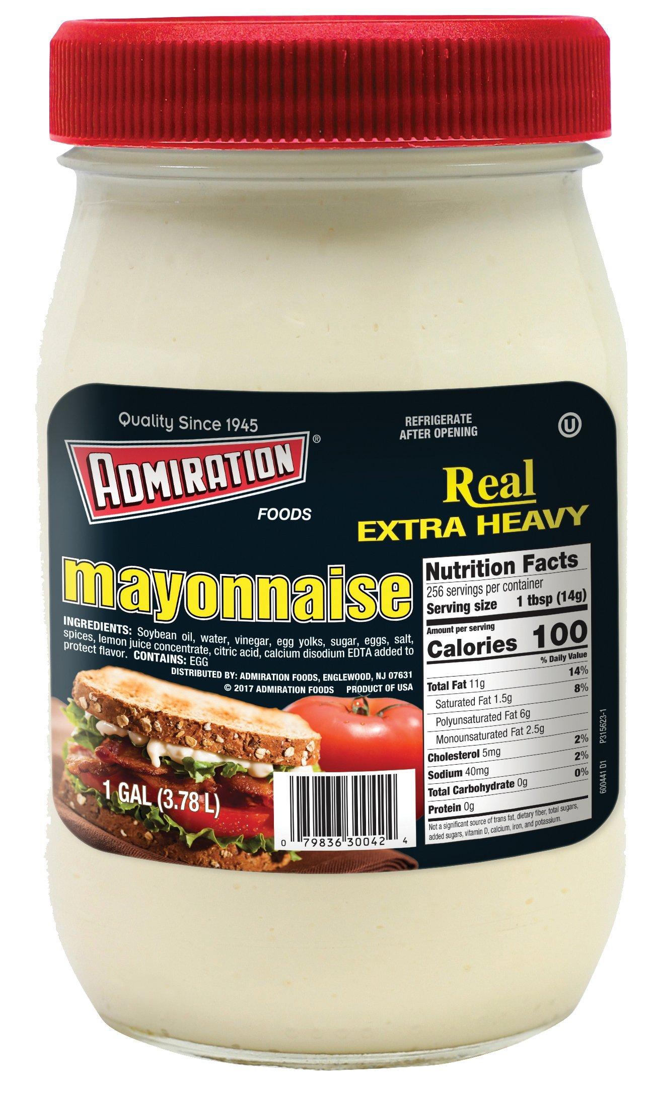 Admiration Extra Heavy Mayonnaise 128oz - Gallon