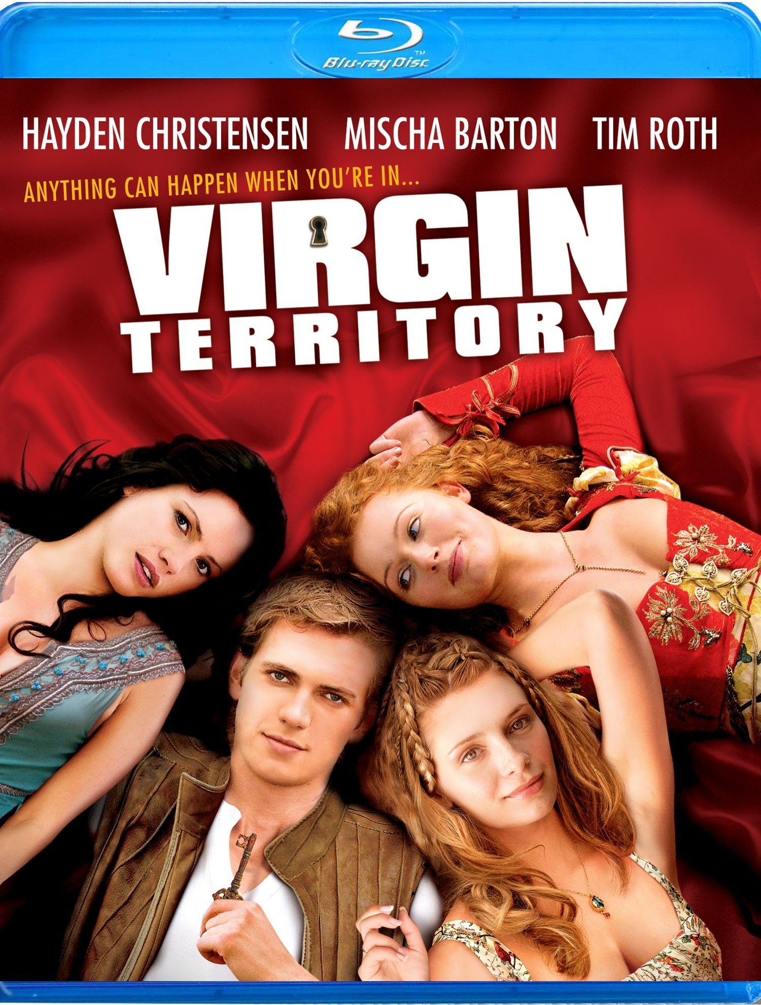 Blu-ray : Virgin Territory (Blu-ray)