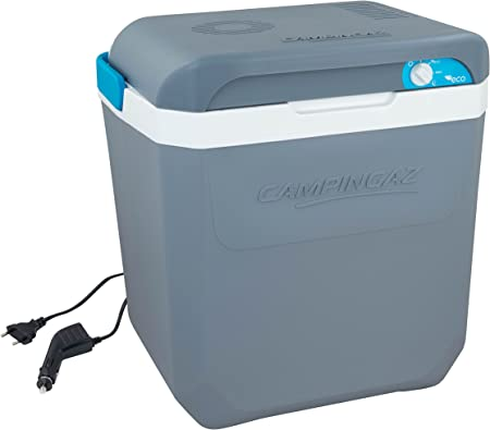 Campingaz Termoeléctrica Powerbox Plus Nevera, Unisex, Azul, 24 l