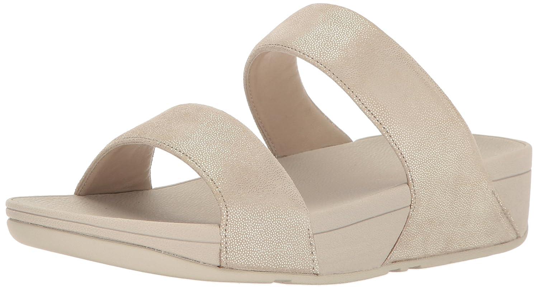 FitFlop FitFlop FitFlop Damen Pantoletten Shimmy Suede Slide H68-308 grau 280685  Gold fc37fd