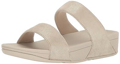 b7d3c86d7187 Amazon.com  FitFlop Women s Shimmy Suede Slide Sandal  Shoes