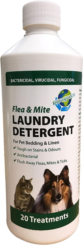 Paragon - Detergente para tejidos antipulgas y ácaros; 500 ml.: Amazon.es: Productos para mascotas