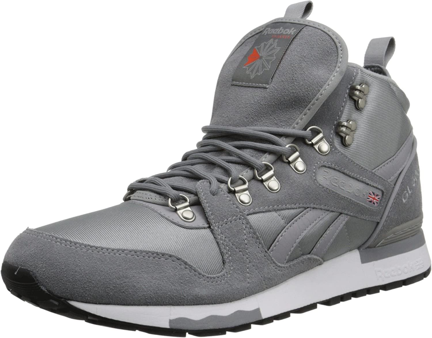 8bf064be606 Amazon.com  Reebok GL 6000 Mid - Foggy Grey   Flat Grey-Grey