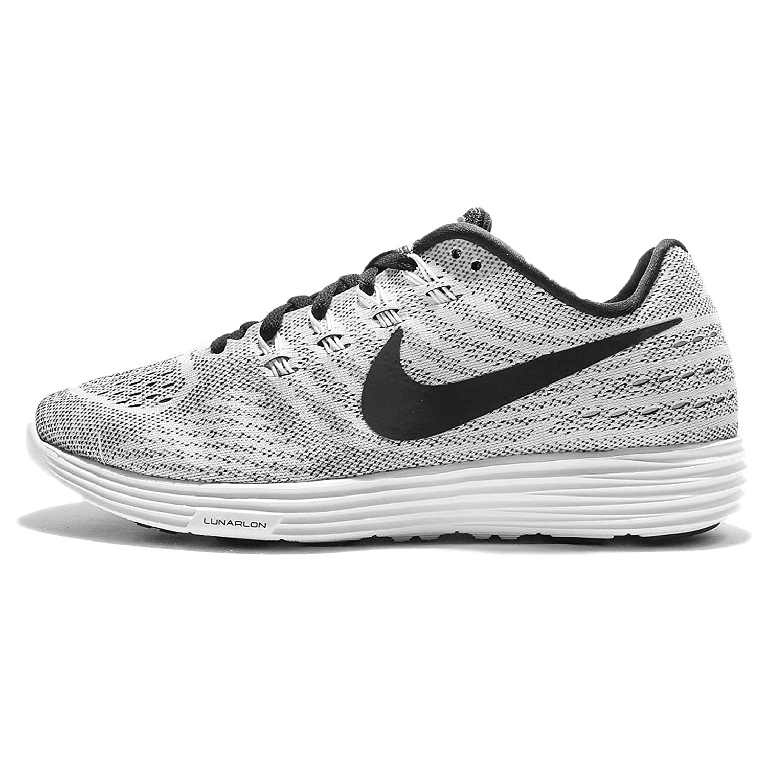 023fb1b663e Nike Lunartempo 2 White Black Men s Running Shoes  Buy Online at Low Prices  in India - Amazon.in