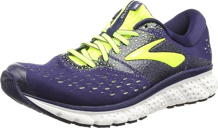 Brooks Glycerin 16 Sneakers Laufschuhe Herren Lila/Gelb