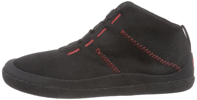 Sole Runner T1 Allrounder 3 - Zapatillas de Material Sintético para Mujer Negro Schwarz (Black/Red 05) 48 rFON9