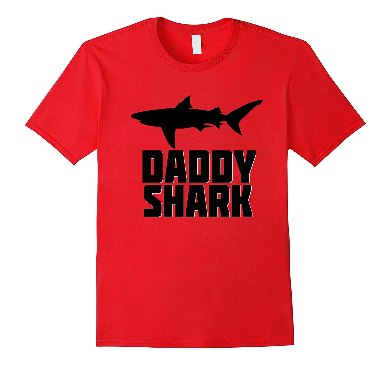 Daddy Shark Shirt Matching Family Tribe Dad Papa Father-TH