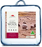 Tontine Signature Super Warm Australian Wool Quilt, Queen, White