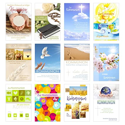 Juego de 24 tarjetas de comunión con sobre - Tarjeta de ...