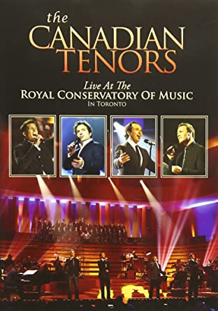 Amazon com: The Canadian Tenors: Live At The Royal