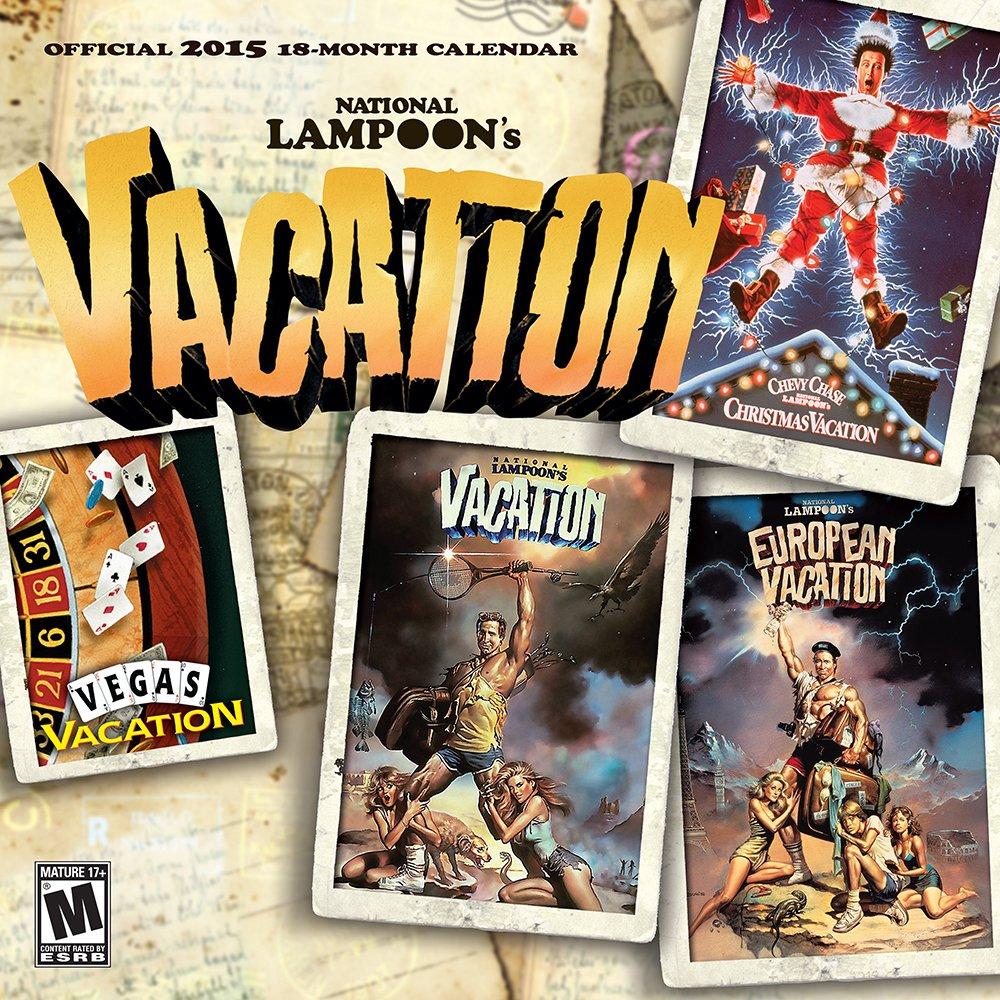 National Lampoon Vacation Movies 2015 Square 12x12 pdf epub