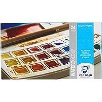 Van Gogh Sulu Boya Seti 24 Renk X Tablet - Plastik Kutulu