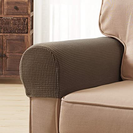 Amazon Com Subrtex Spandex Stretch Fabric Armrest Covers Anti Slip