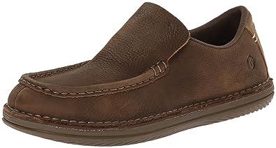 Merrell Men's Bask Moc Slip-On Shoe, Moss, ...
