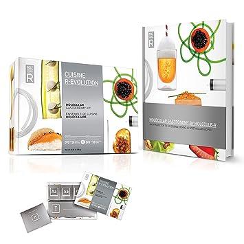Molekül Cuisine R-Evolution Molekularküche Set und Buch ...