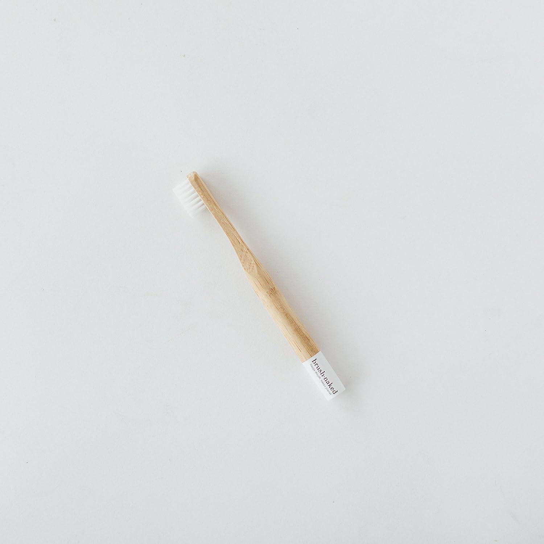 Brush Naked Bamboo Toothbrush, Kids Soft (Naked)