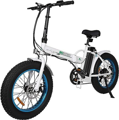ECOTRIC Folding Fat Tire Electric Bike