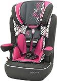Osann Kinderautositz i - max SP Corail Framboise pink rosa, 9 bis 36 kg, ECE Gruppe 1 / 2 / 3, von ca. 9 Monate bis 12 Jahre, mitwachsende Kopfstütze