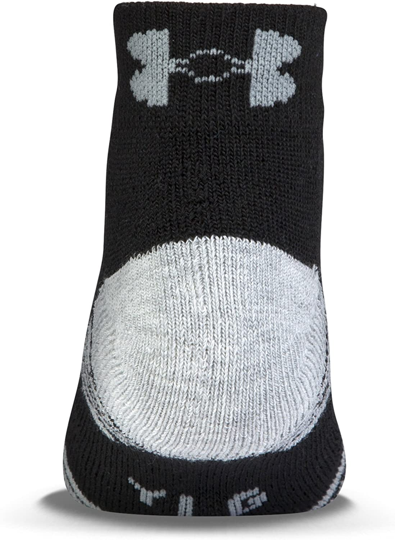 Under Armour Boys HeatGear Tech Lo Cut Socks 3 Pack