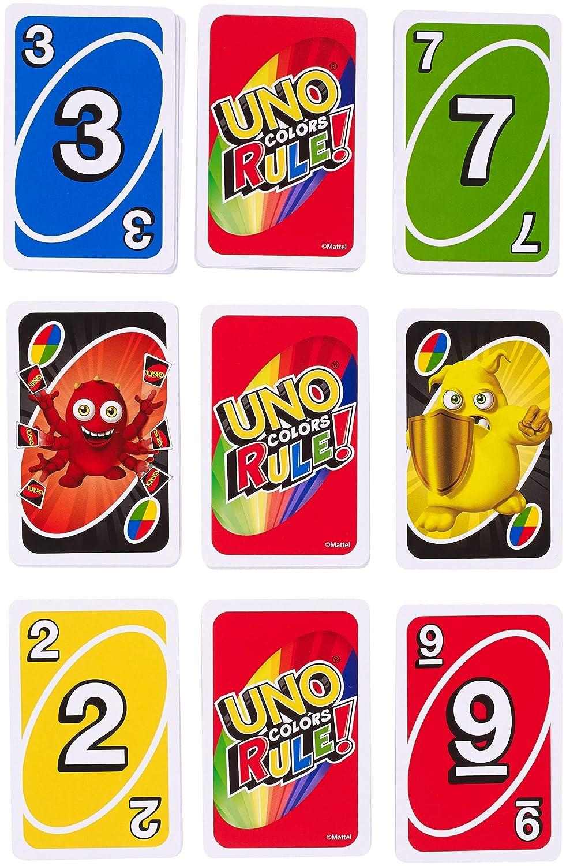 Juegos Mattel - Uno Colores al Poder
