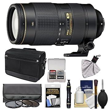 Amazon.com: Nikon 80 – 400 mm f/4.5 – 5.6 G VR AF-S ED ...